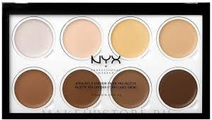 <b>NYX Professional Makeup</b> Highlight & Contour Cream Pro Palette ...