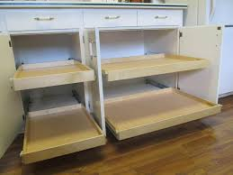 Kitchen Cabinet Slide Out Kitchen Cabinet Pull Out Shelves Hardware Roselawnlutheran