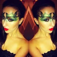 poison ivy makeup mask