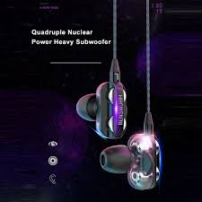 Wired Earphone HiFi Super Bass <b>3.5mm In-Ear Headphone Stereo</b> ...