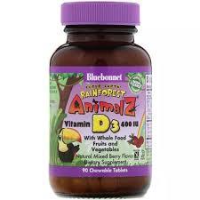 Bluebonnet Nutrition Children's Vitamin D <b>Super Earth</b>