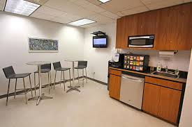 shared eat in pantry area class a building building office pantry