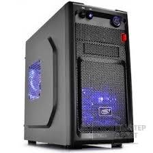 <b>корпус Deepcool SMARTER</b> LED mATX/ mini-ITX, <b>Black</b>/ Blue LED ...