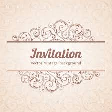 doc invitation card template invitation card template invitation card template curly floral background and invitation card template