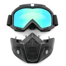 Safety Goggles Face <b>Mask Windproof</b> Dustproof UV-protection ...