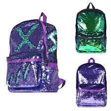 Backpacks <b>Women</b> Fashion <b>Glitter Sequins</b> laptop backpack Large ...
