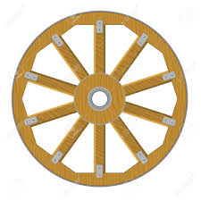 Image result for wooden cart wheel