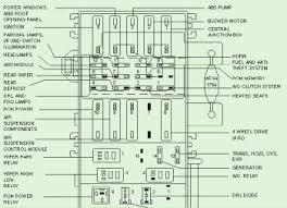 pcm power relaycar wiring diagram 2000 ford explorer battery junction fuse box diagram