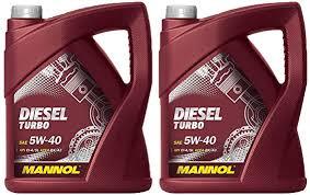 <b>Mannol Diesel Turbo 5W-40</b> API CI-4/SL, 2 x 5 litres: Amazon.de: Auto