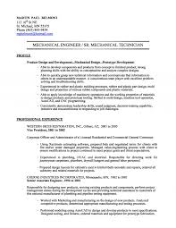 mechanical engineer technician resume example sterile processing technician resume example