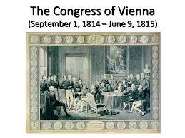 「1814 Congress of Vienna」の画像検索結果
