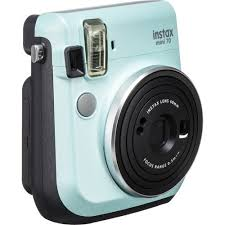 FUJIFILM INSTAX <b>Mini</b> 70 Instant Film <b>Camera</b> (<b>Icy</b> Mint) 16561915 ...
