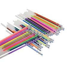 <b>36 Pcs Gel Pen</b> Fluorescent Refills Color Cartridge Flash Pen ...