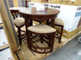 tracy modern designed counter height height he table height broyhill lenoir  piece counter height dining se