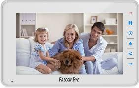 Купить <b>Видеодомофон FALCON EYE FE-70C4</b>, белый в интернет ...