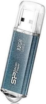 Купить <b>USB</b>-<b>накопитель Silicon Power Marvel</b> M01 32Gb Blue по ...