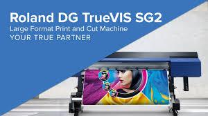 <b>Roland</b> DG <b>TrueVIS SG2</b> Large Format Print and Cut Machine ...