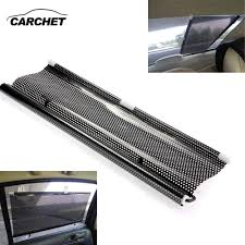 CARCHET <b>Car Sun Shade</b> Shield Visor <b>Window</b> Retractable Black ...