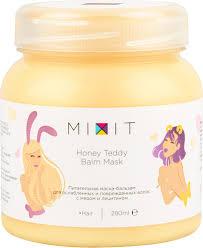 <b>MIXIT Питательная маска</b> для поврежденных волос Honey Teddy ...