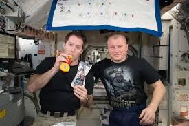 ESA European <b>Space</b> Agency <b>astronaut</b> Thomas Pesquet and ...