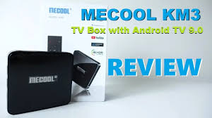 <b>MECOOL KM3</b> Review: 4K Android TV Box with Voice Remote Control