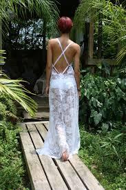 <b>White Lace</b> Backless <b>Nightgown Bridal</b> Lingerie <b>Wedding</b> | Etsy