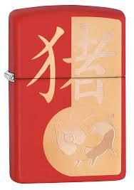 <b>Зажигалка Year of</b> the Pig Design ZIPPO 29661 купить оптом в ...