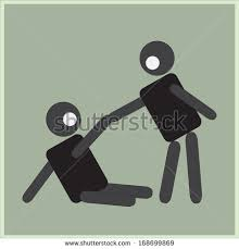 a man helping his friend from fell down to raise up
