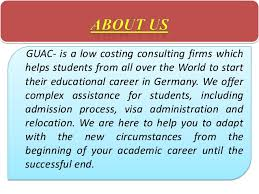Admission in germany university by the help of german uni applicatio