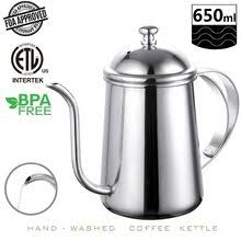 Stainless Steel <b>Teapot</b> Drip <b>Coffee Pot</b> Promotion-Shop for ...