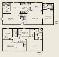 two story house plans Bedroom Bath