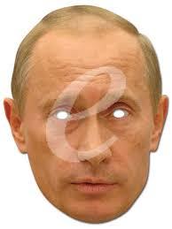 ... Vladimir-Putin-Prominenten-Papp-Maske-hochwertiger-Glanzkarton-mit- - 502674