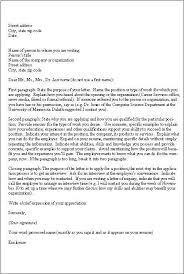 Application Letters Sample Business Letter Application Letter