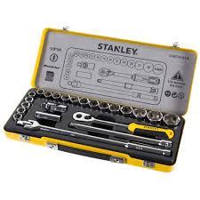 <b>Набор торцевых головок</b> Stanley 1/2 дюйма, 24 предмета в ...