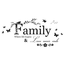 <b>Family Quotes Wall Stickers</b>: Amazon.co.uk