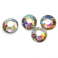 <b>1000Pcs</b> Nail Art Flatback <b>Crystal</b> AB 14 <b>Facets</b> Resin Round 4mm ...