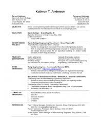 cover letter college student resume example denial letter samplecollege student example resume medium size cover letter college student