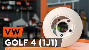 Как заменить <b>задние тормозные диски</b> на VW GOLF 4 (1J1 ...