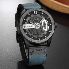 <b>CURREN</b> brand top new fashion <b>casual</b> quartz wrist watch <b>men</b> ...