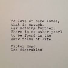 Items similar to Les Miserables Quote Typed on Typewriter onto ...