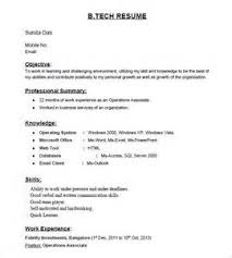Resume Format For Job Fresher Sample Samples Examples  Fresher     Than       CV Formats For Free Download Resume Format For Fresher B Com Images