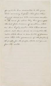 exhibition items gettysburg address exhibitions library of john hay papers manuscript division library of congress digital id cw0127p1
