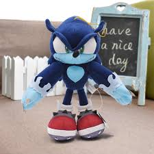 <b>31cm 12.4</b>'' <b>Sonic Plush</b> Toys Black Shadow Plush Stuffed Toys Doll ...