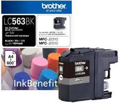 <b>Картридж Brother LC563BK</b>, чёрный (600 стр.) | купить картридж ...
