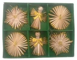 <b>Набор елочных игрушек</b> Magic Time Ангелы с бантами (38199 ...