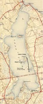recollecting nemasket the sinking of farina  map showing the approximate