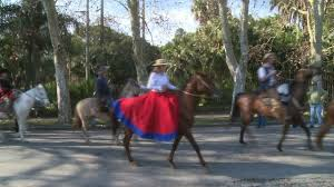 Gauchos parade in Uruguay's capital on Constitution Day | AFP ...