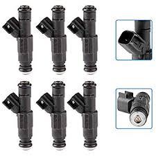 Fuel Injectors,ECCPP 6pcs 4 Holes Fuel Injector Kit ... - Amazon.com