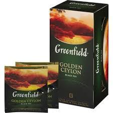 Чай Greenfield <b>Golden</b> Ceylon черный 25 пакетиков – выгодная ...