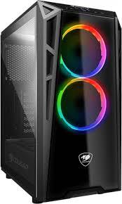 Компьютерный <b>корпус Cougar Turret</b> RGB без БП, <b>ATX</b>, 385QMY0 ...